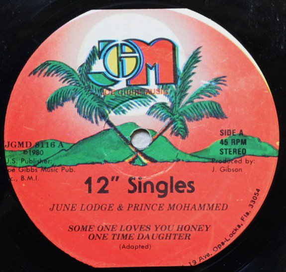 JUNE LODGE & PRINCE MOHAMMED / SOMEONE LOVES YOU HONEY (12