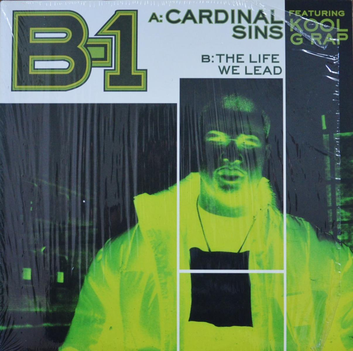 B-1 FEATURING KOOL G RAP / CARDINAL SINS / THE LIFE WE LEAD (MIXED BY LARGE PROFESSOR) (12