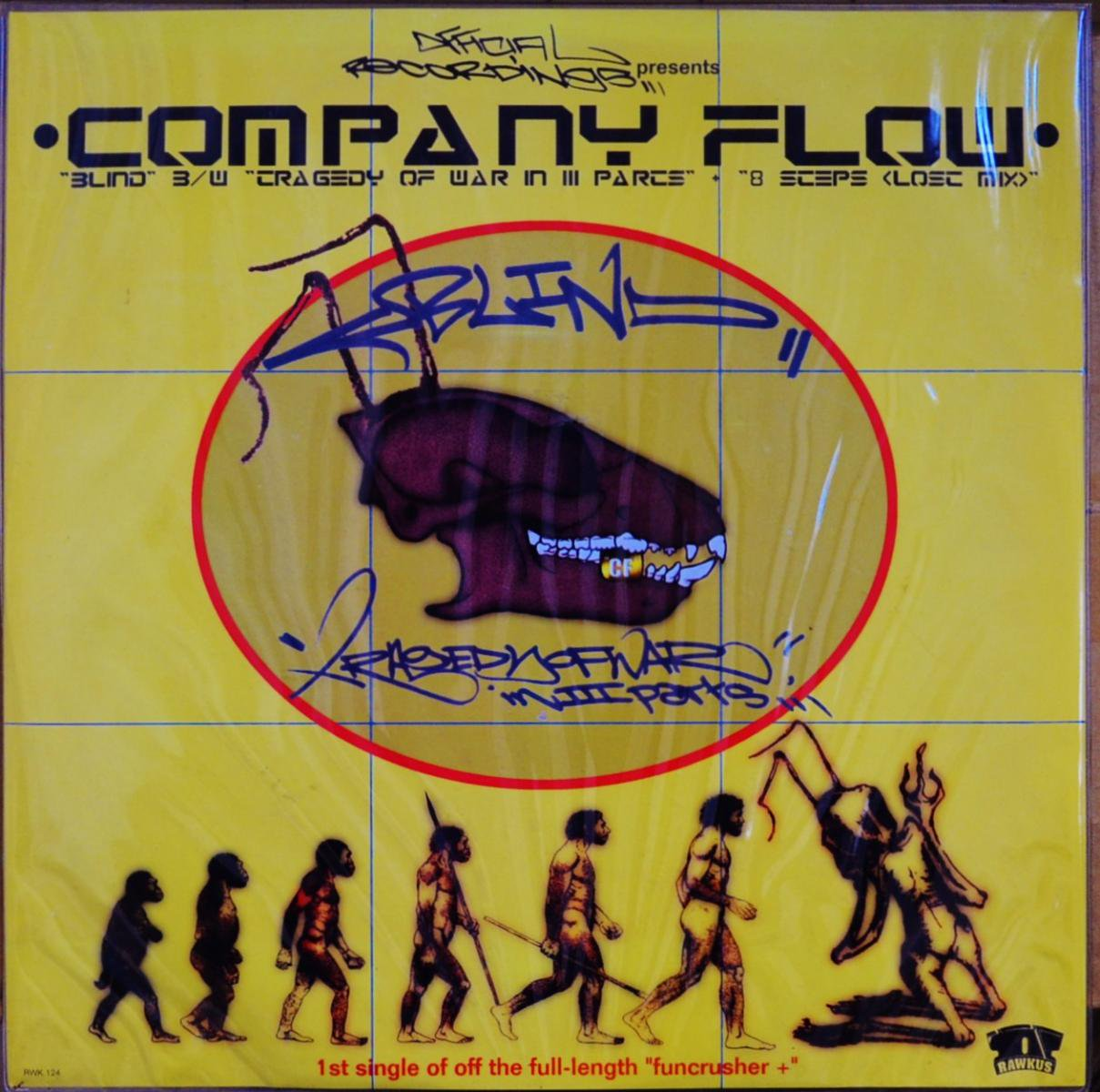 COMPANY FLOW / BLIND / TRAGEDY OF WAR IN III PARTS (12