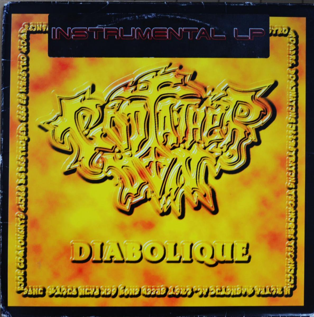 GODFATHER DON / DIABOLIQUE (INSTRUMENTALS) (2LP)