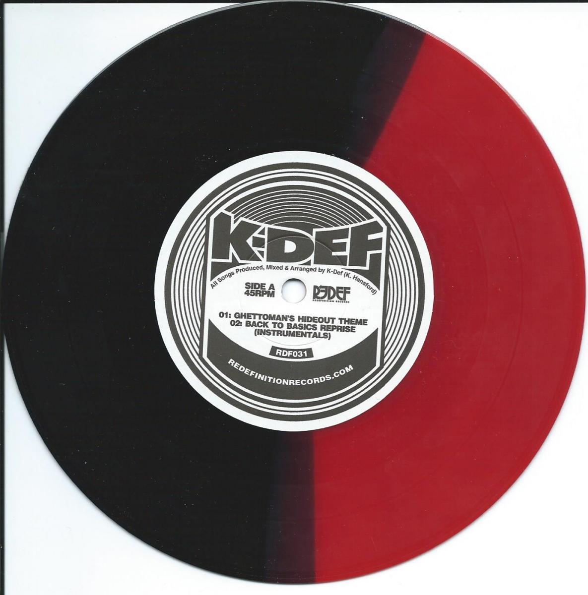 K-DEF / GHETTOMAN'S HIDEOUT THEME / COME TAKE A RIDE INSTRUMENTAL (7