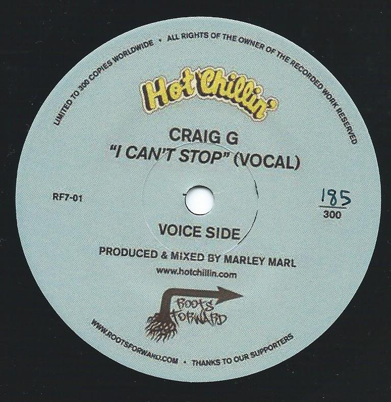 CRAIG G / I CAN'T STOP (PROD BY MARLEY MARL) (7