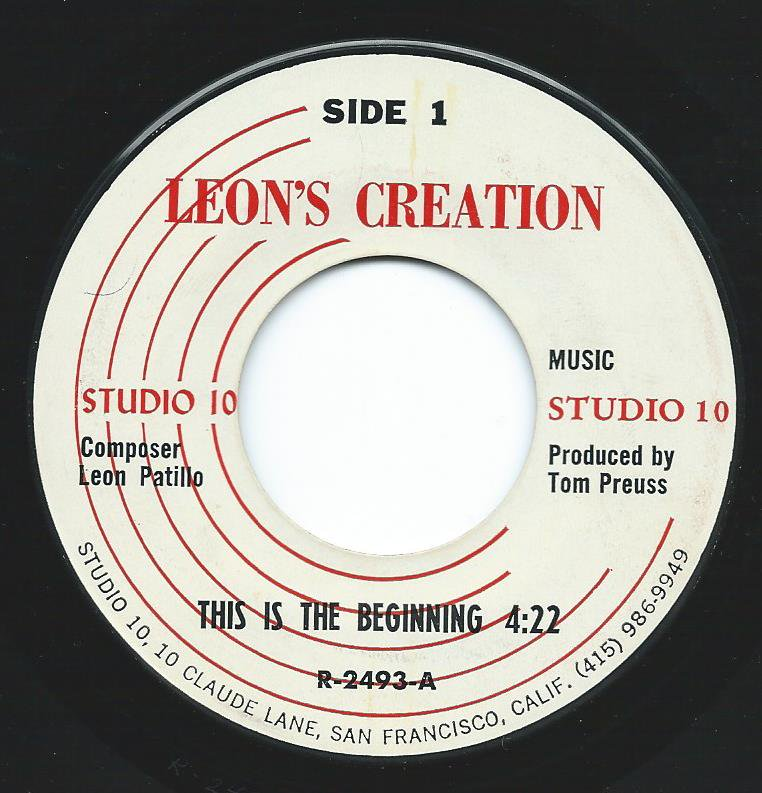 LEON'S CREATION / THIS IS THE BEGINING (7