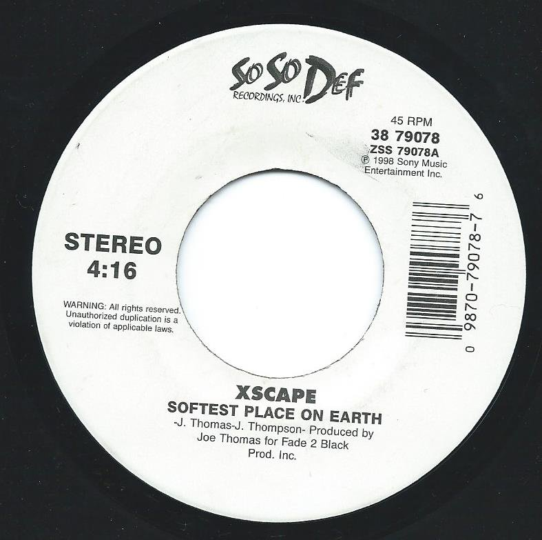 XSCAPE / SOFTEST PLACE ON EARTH / MY LITTLE SECRET (7