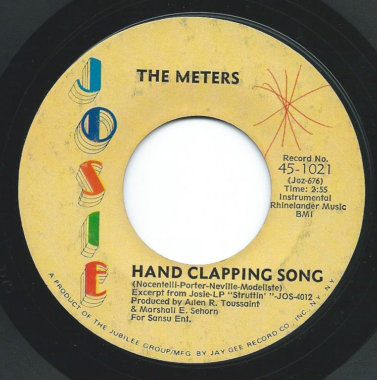 THE METERS / HAND CLAPPING SONG / JOOG (7