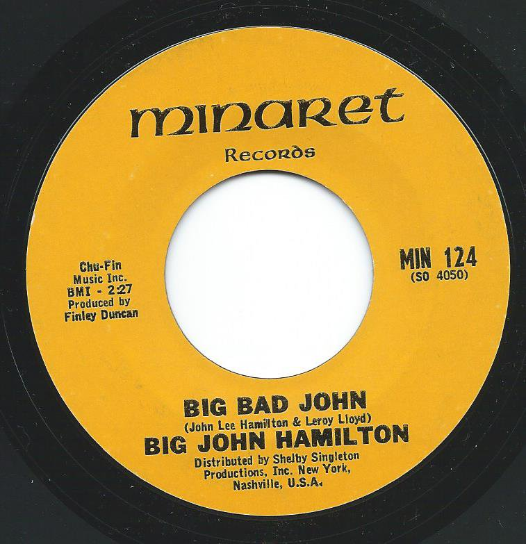 BIG JOHN HAMILTON / BIG BAD JOHN / THE TRAIN (7