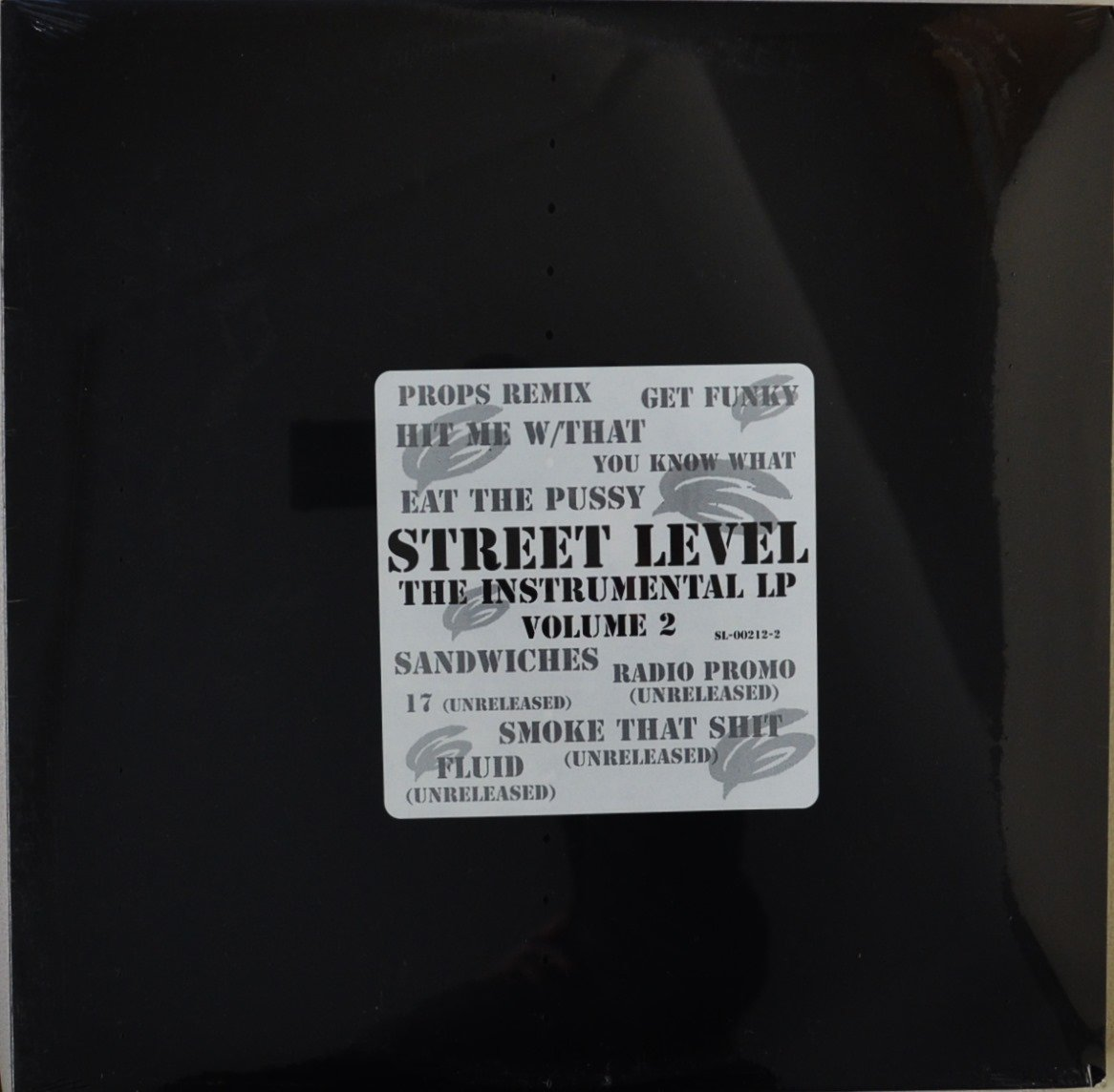 THE BEATNUTS / STREET LEVEL - THE INSTRUMENTAL LP (VOLUME 2) (1LP)