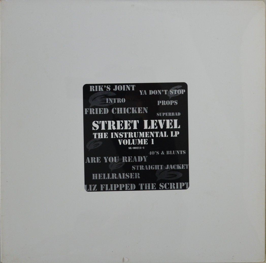 THE BEATNUTS / STREET LEVEL - THE INSTRUMENTAL LP VOLUME 1 (1LP)
