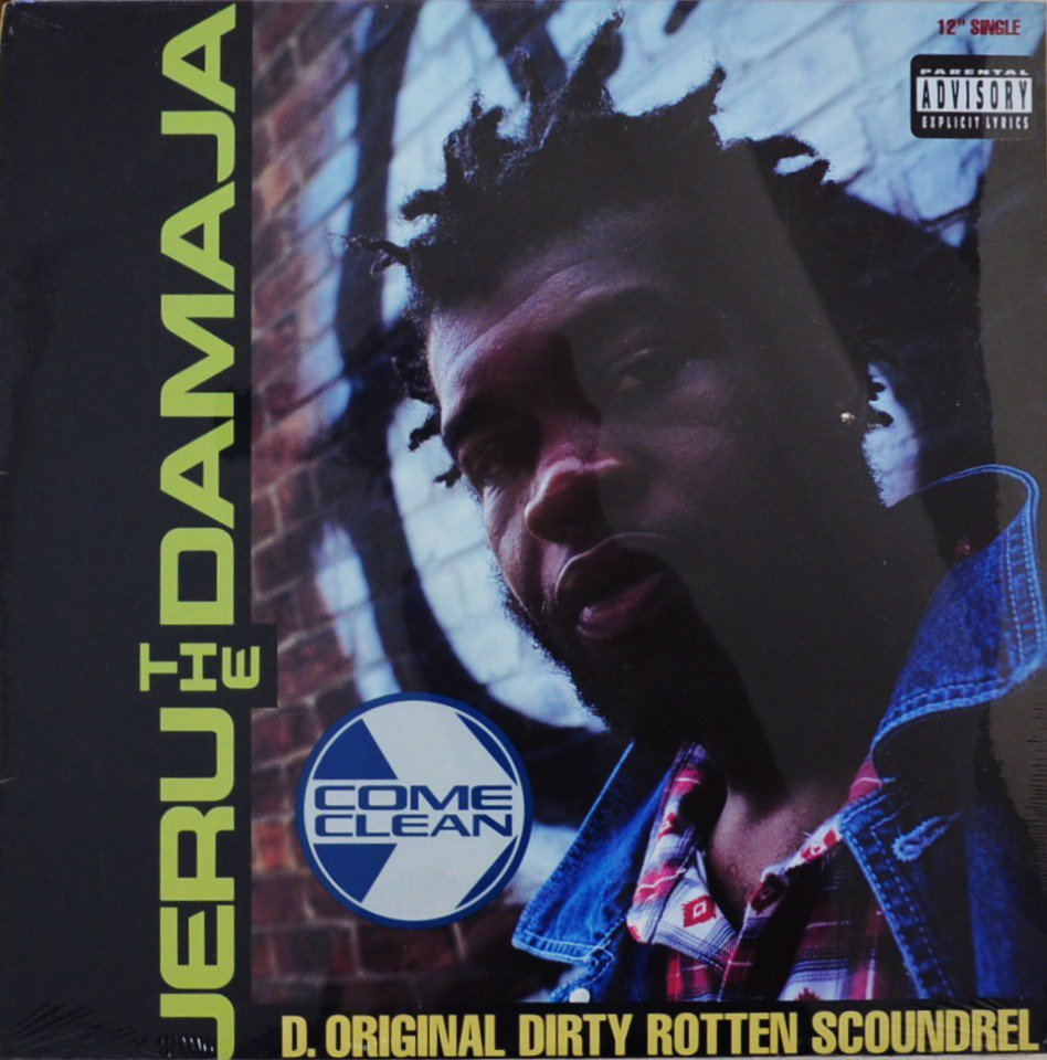 JERU THE DAMAJA / COME CLEAN (12
