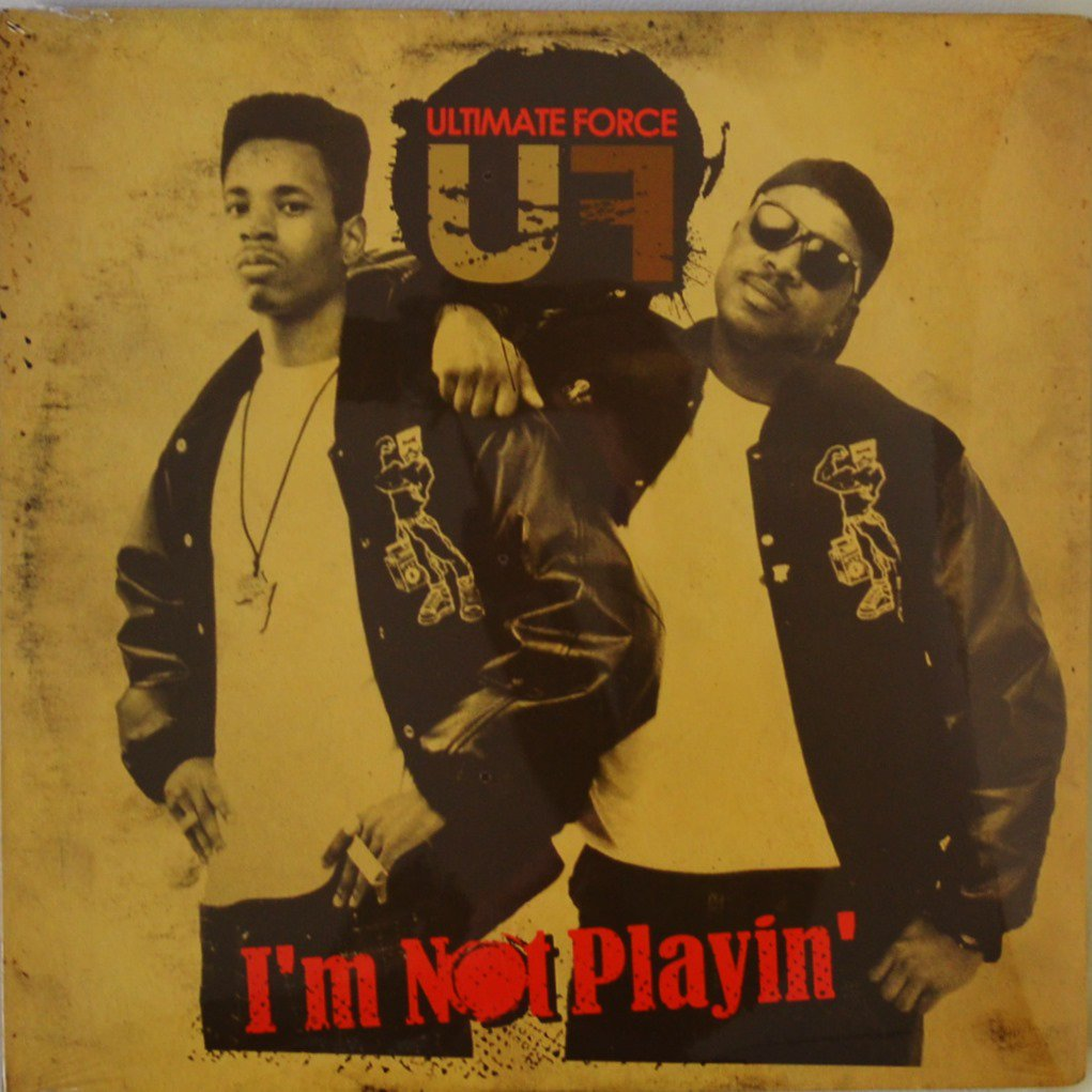 ULTIMATE FORCE / I'M NOT PLAYING (2LP)