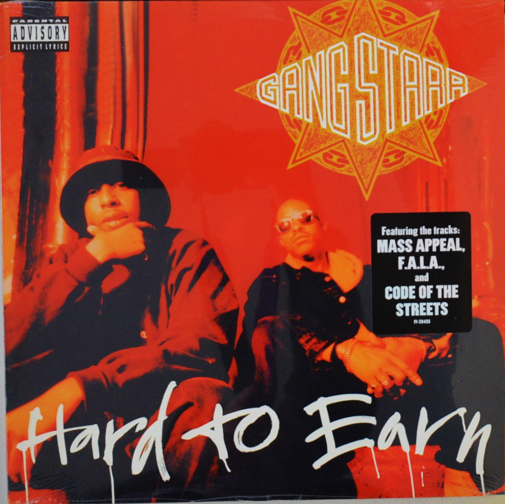 GANG STARR / HARD TO EARN (2LP)