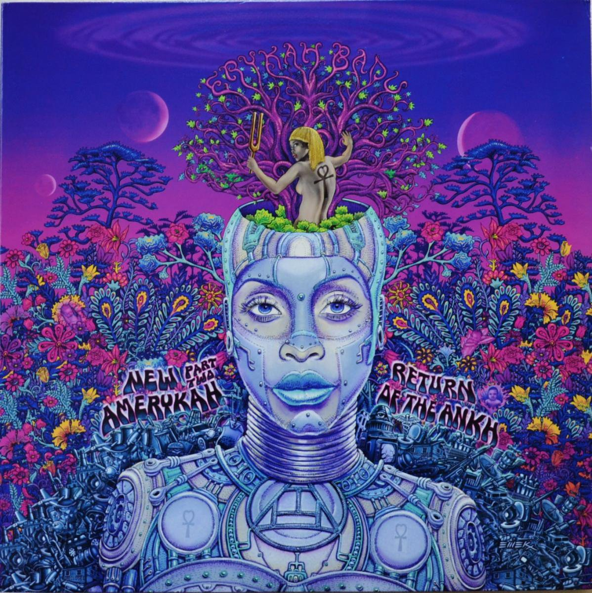 ERYKAH BADU / NEW AMERYKAH PART TWO: RETURN OF THE ANKH (2LP)