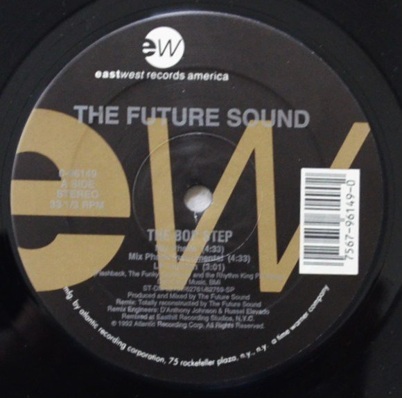 THE FUTURE SOUND / THE BOP STEP (12