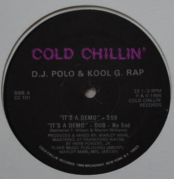 D.J. POLO & KOOL G. RAP / IT'S A DEMO / I'M FLY (12