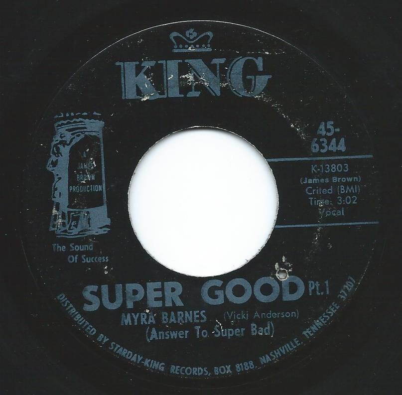 MYRA BARNES / SUPER GOOD (7