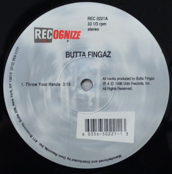 BUTTA FINGAZ / THROW YOUR HANDS / FOR THE LADIES / FIVE BOROUGHS (12