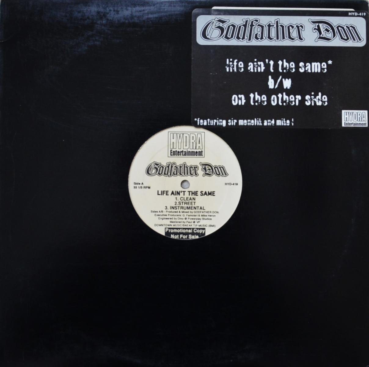 GODFATHER DON / LIFE AIN'T THE SAME / ON THE OTHER SIDE (12