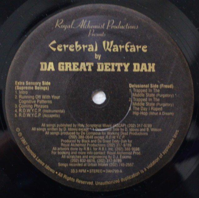 DA GREAT DEITY DAH / CEREBRAL WARFARE (12