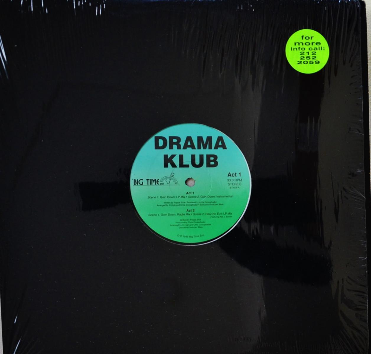 DRAMA KLUB / GOIN' DOWN / HEAR NO EVIL (12