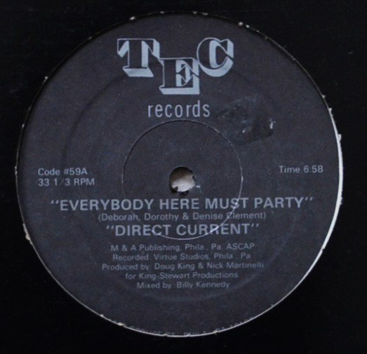 DIRECT CURRENT / EVERYBODY HERE MUST PARTY (12