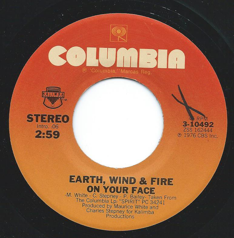 EARTH WIND & FIRE / ON YOUR FACE (7