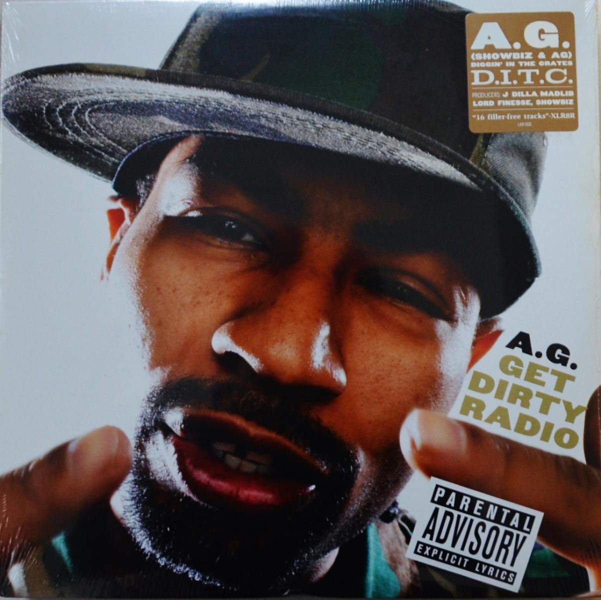 A.G. / GET DIRTY RADIO (2LP)