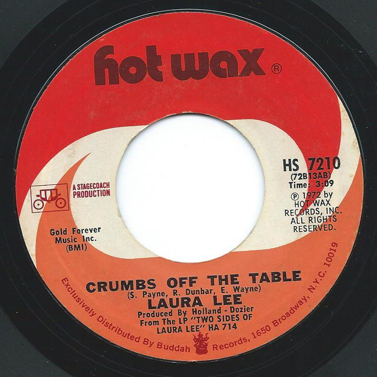 LAURA LEE / CRUMBS OFF THE TABLE / YOU'VE GOT TO SAVE ME (7