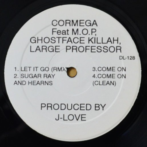 CORMEGA  / LET IT GO (REMIX) / SUGAR RAY AND HEARNS (FT.LARGE PROFESSOR) (12