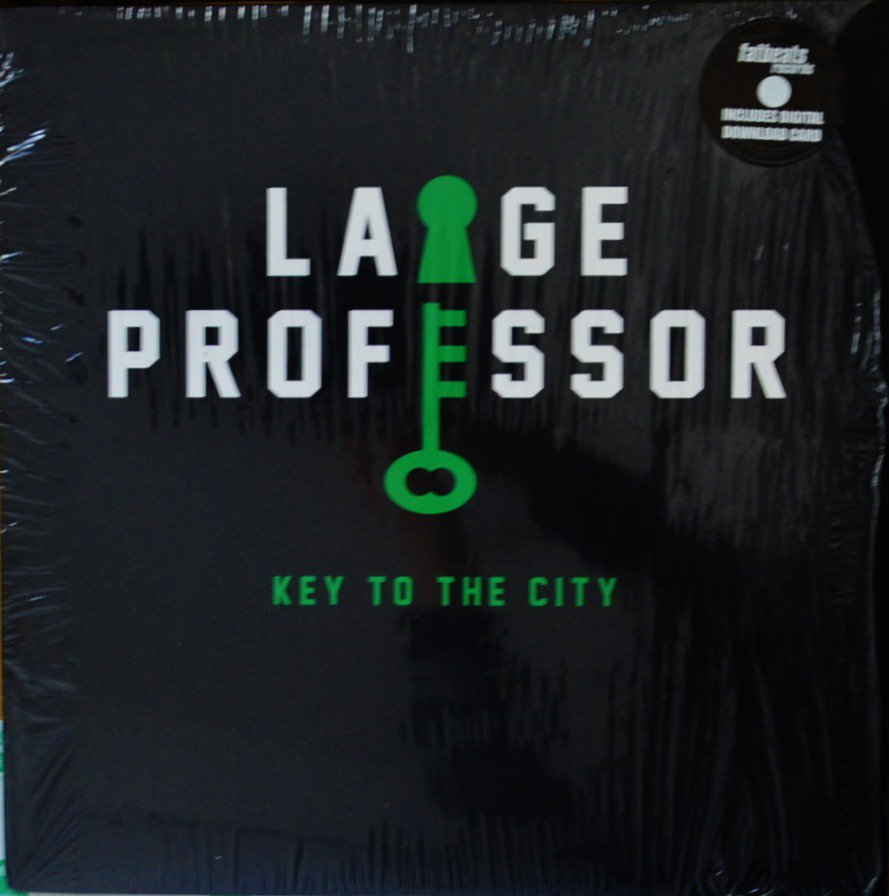 LARGE PROFESSOR / KEY TO THE CITY (SCRATCHES BY  ROB SWIFT) (12