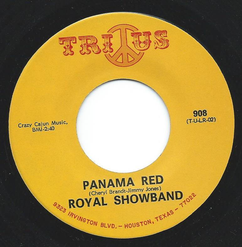 ROYAL SHOWBAND / LITTLE ROYAL / PANAMA RED / I'LL COME CRAWLING (7