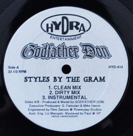 GODFATHER DON / STYLES BY THE GRAM / WORLD PREMIERE / PROPERTIES OF STEEL (12