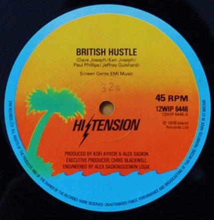 HI-TENSION / BRITISH HUSTLE / PEACE ON EARTH (12