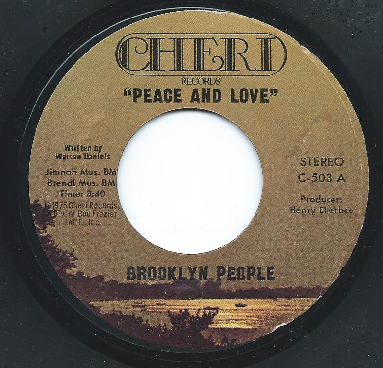 BROOKLYN PEOPLE / PEACE AND LOVE / WRECK (7