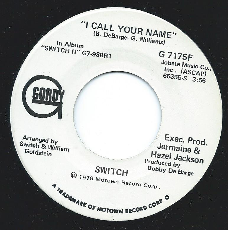 SWITCH / I CALL YOUR NAME - PROMO (7