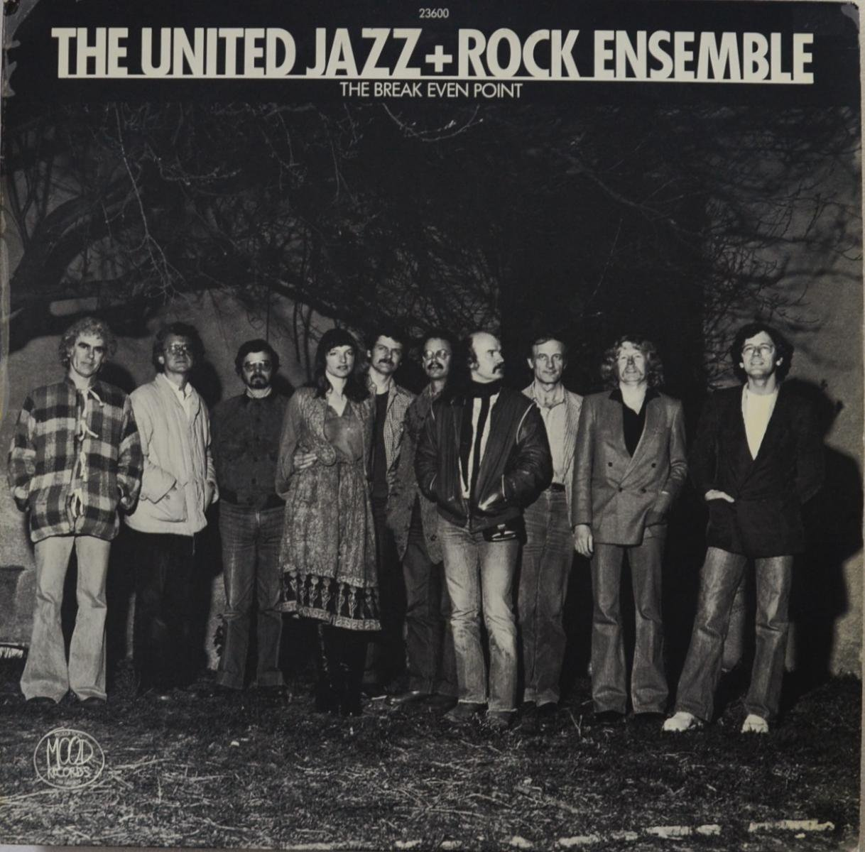 THE UNITED JAZZ + ROCK ENSEMBLE / THE BREAK EVEN POINT (LP)
