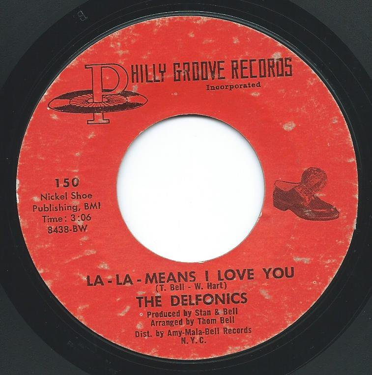 THE DELFONICS / LA-LA-MEANS I LOVE YOU / CAN'T GET OVER LOSING YOU (7