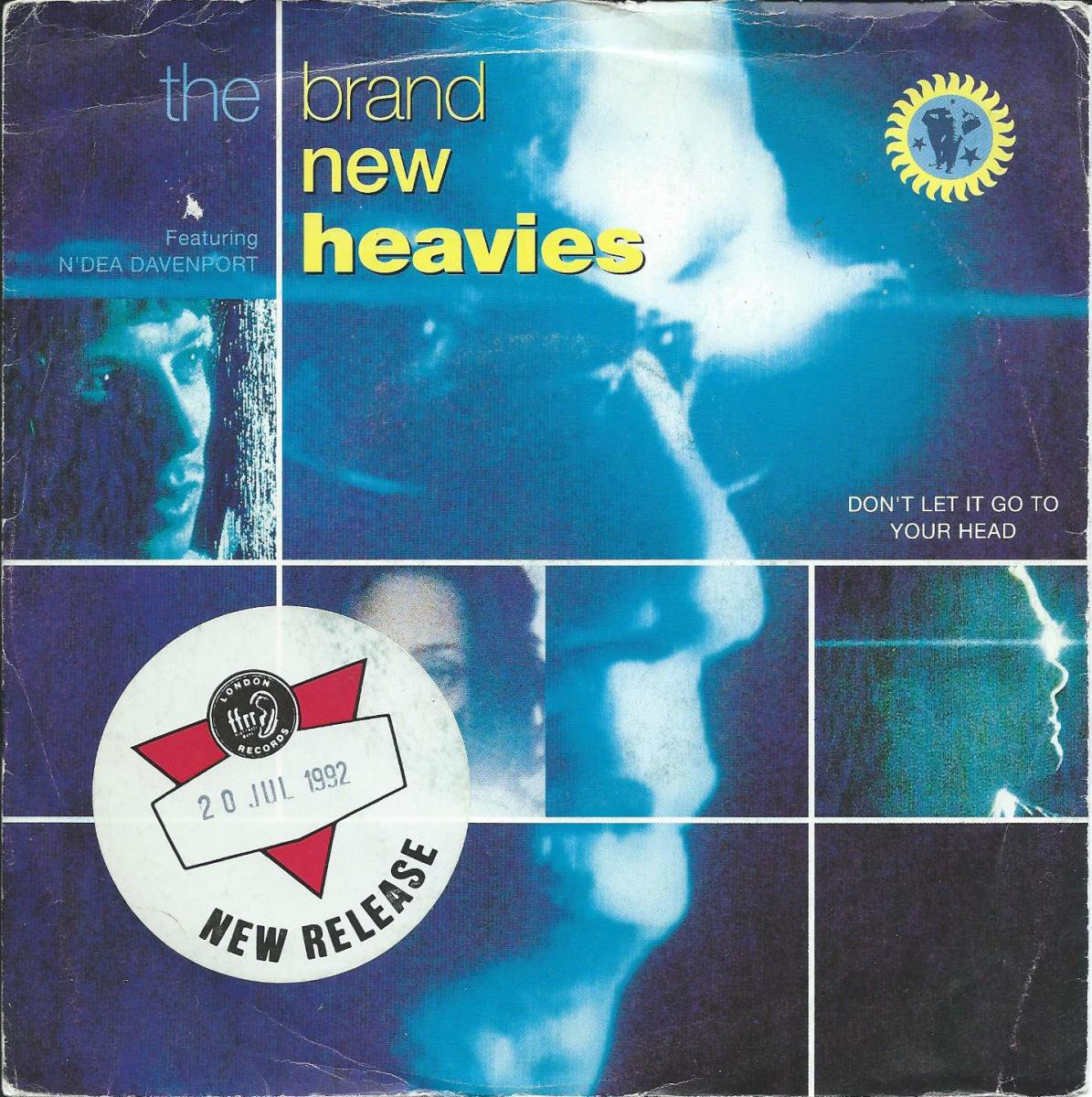 THE BRAND NEW HEAVIES / DON'T LET IT GO TO YOUR HEAD / KEEP IT COMING (EDIT) (7