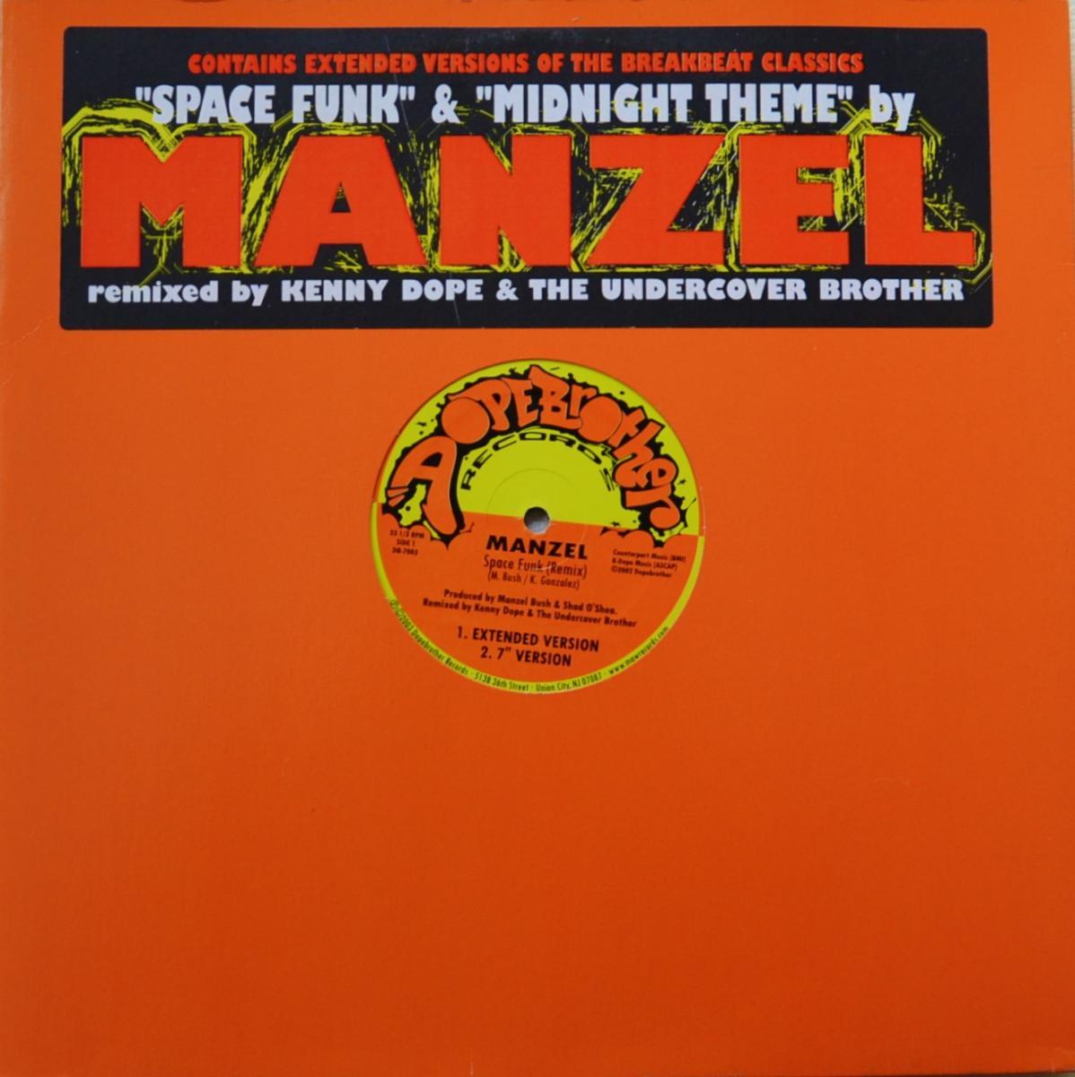 MANZEL / SPACE FUNK / MIDNIGHT THEME (12