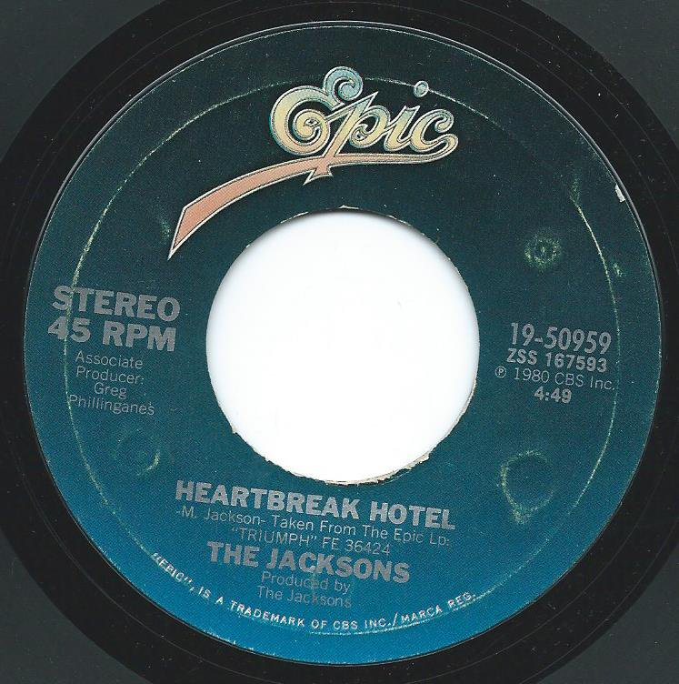 THE JACKSONS / HEARTBREAK HOTEL / THINGS I DO FOR YOU (7