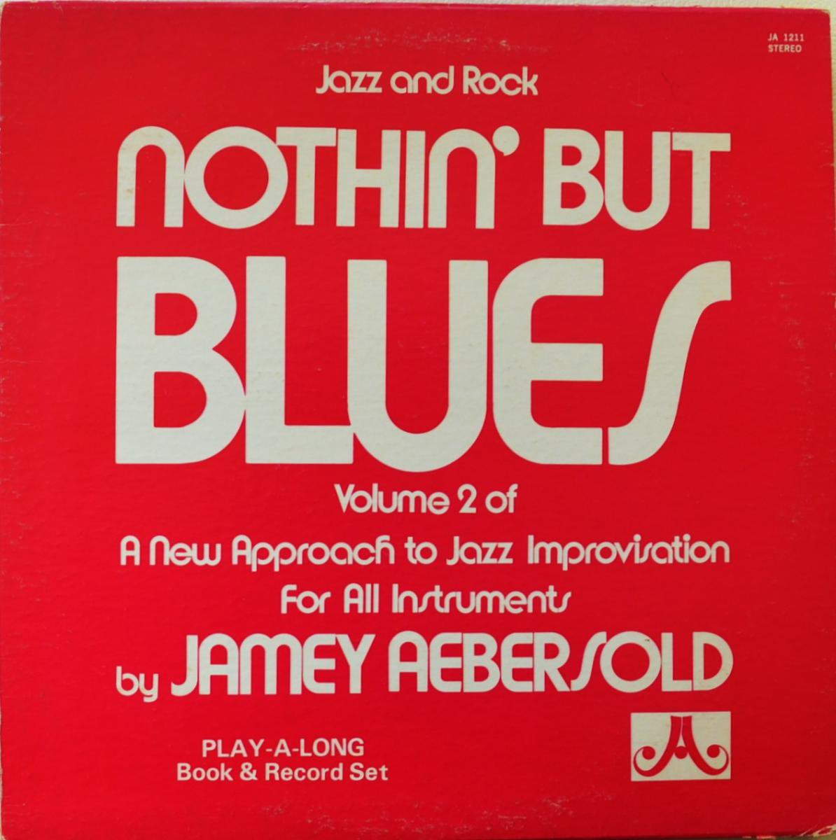 JAMEY AEBERSOLD / NOTHIN' BUT BLUES (LP)