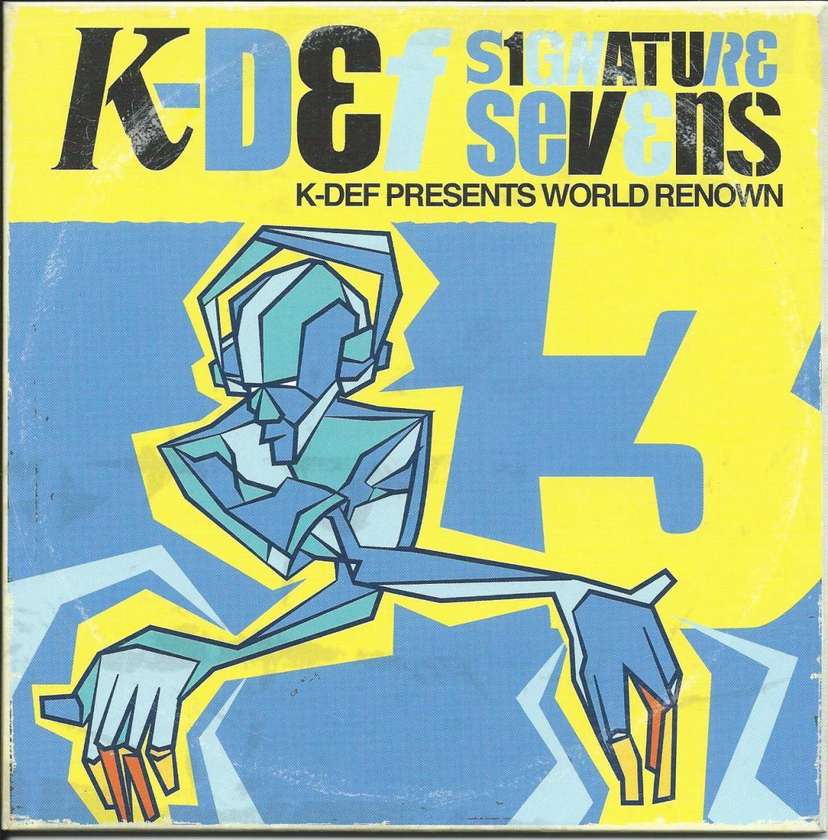 K-DEF PRESENTS WORLD RENOWN / LONG GEV (SIGNATURE SEVENS VOL.3) (7