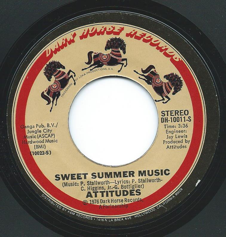 ATTITUDES / SWEET SUMMER MUSIC / IF WE WANT TO (7