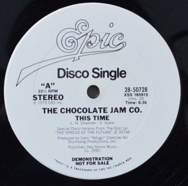 THE CHOCOLATE JAM CO. / A CHOCOLATE JAM / THIS TIME (12