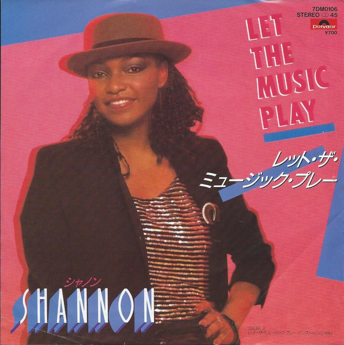シャノン SHANNON / レット・ザ・ミュージック・プレー LET THE MUSIC PLAY (7