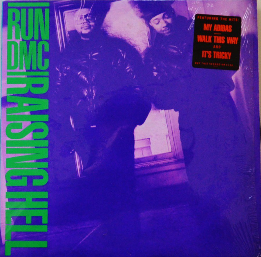 RUN DMC / RAISING HELL (1LP)