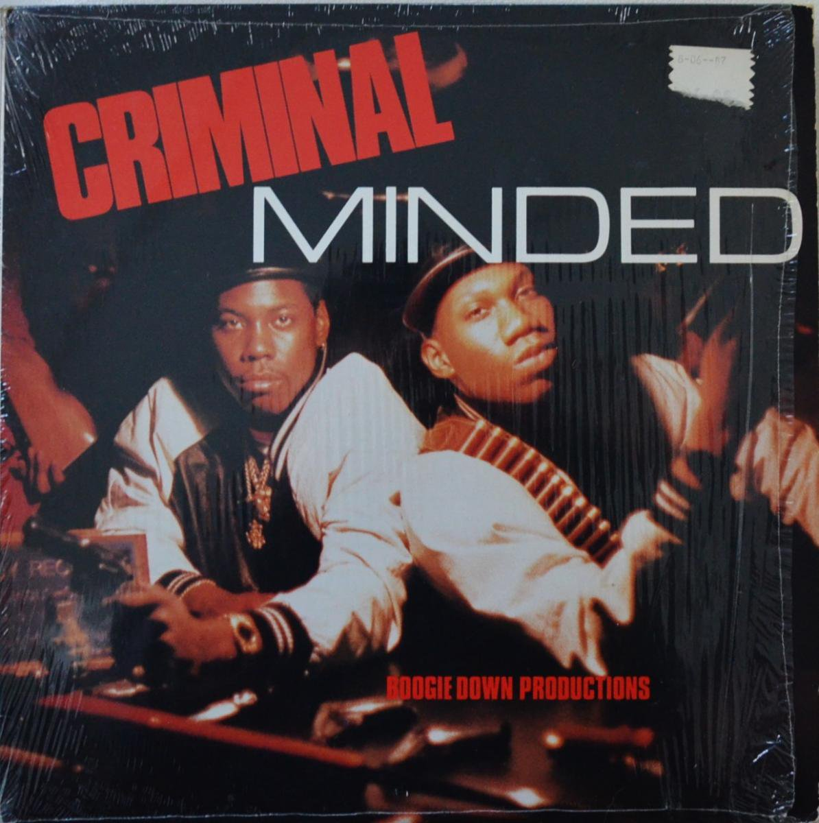 BOOGIE DOWN PRODUCTIONS / CRIMINAL MINDED (1LP)
