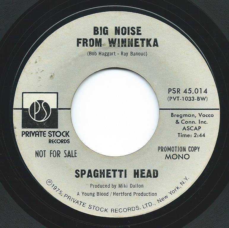 SPAGHETTI HEAD / BIG NOISE FROM WINNETKA (7