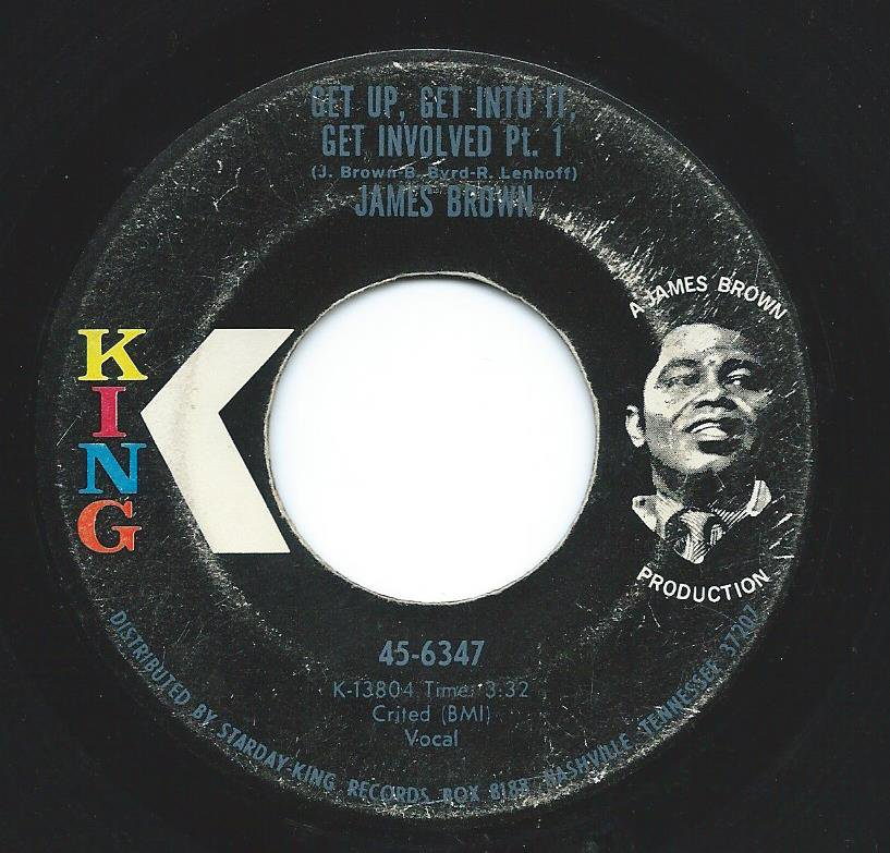 JAMES BROWN / GET UP, GET INTO IT, GET INVOLVED (7