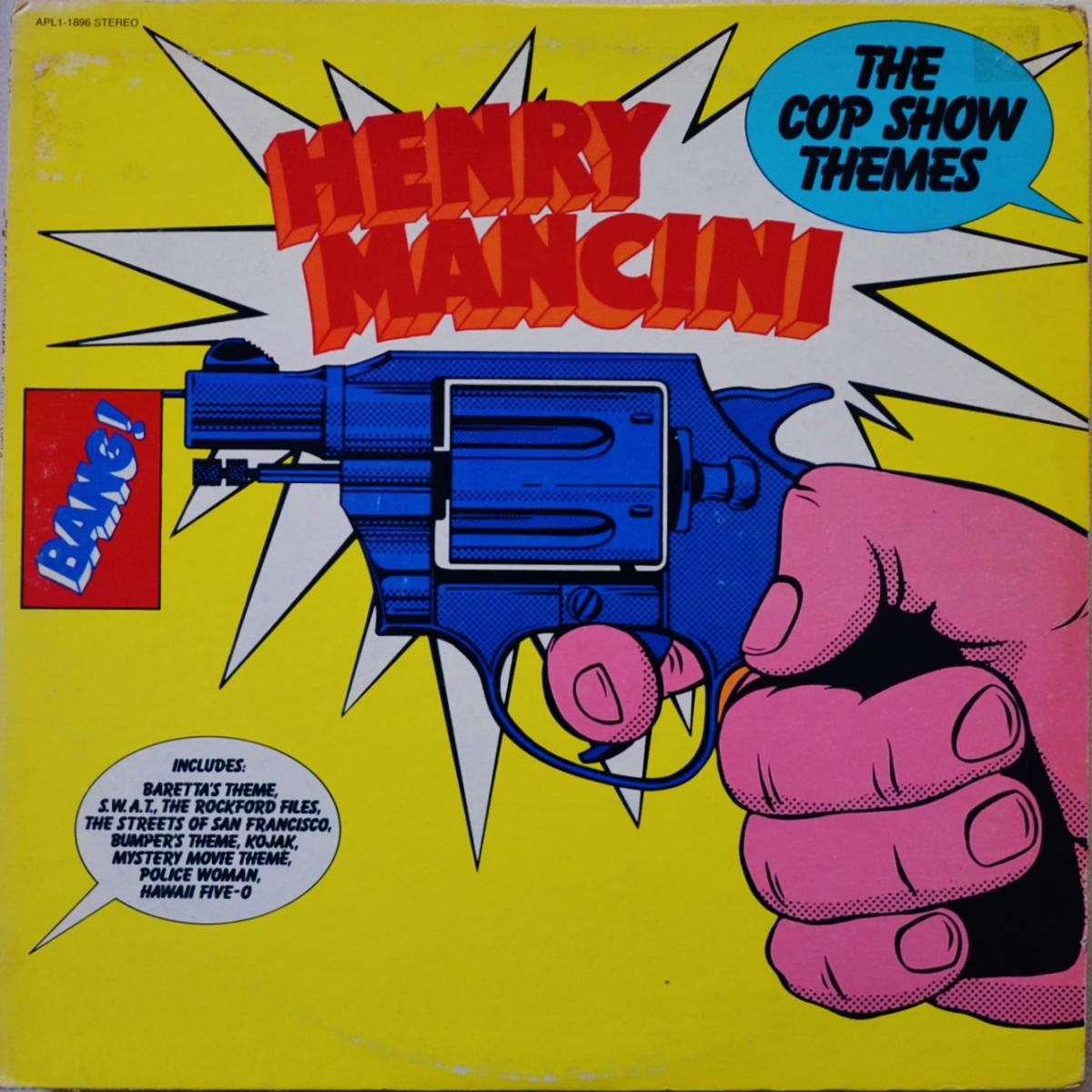 HENRY MANCINI / THE COP SHOW THEMES (LP)