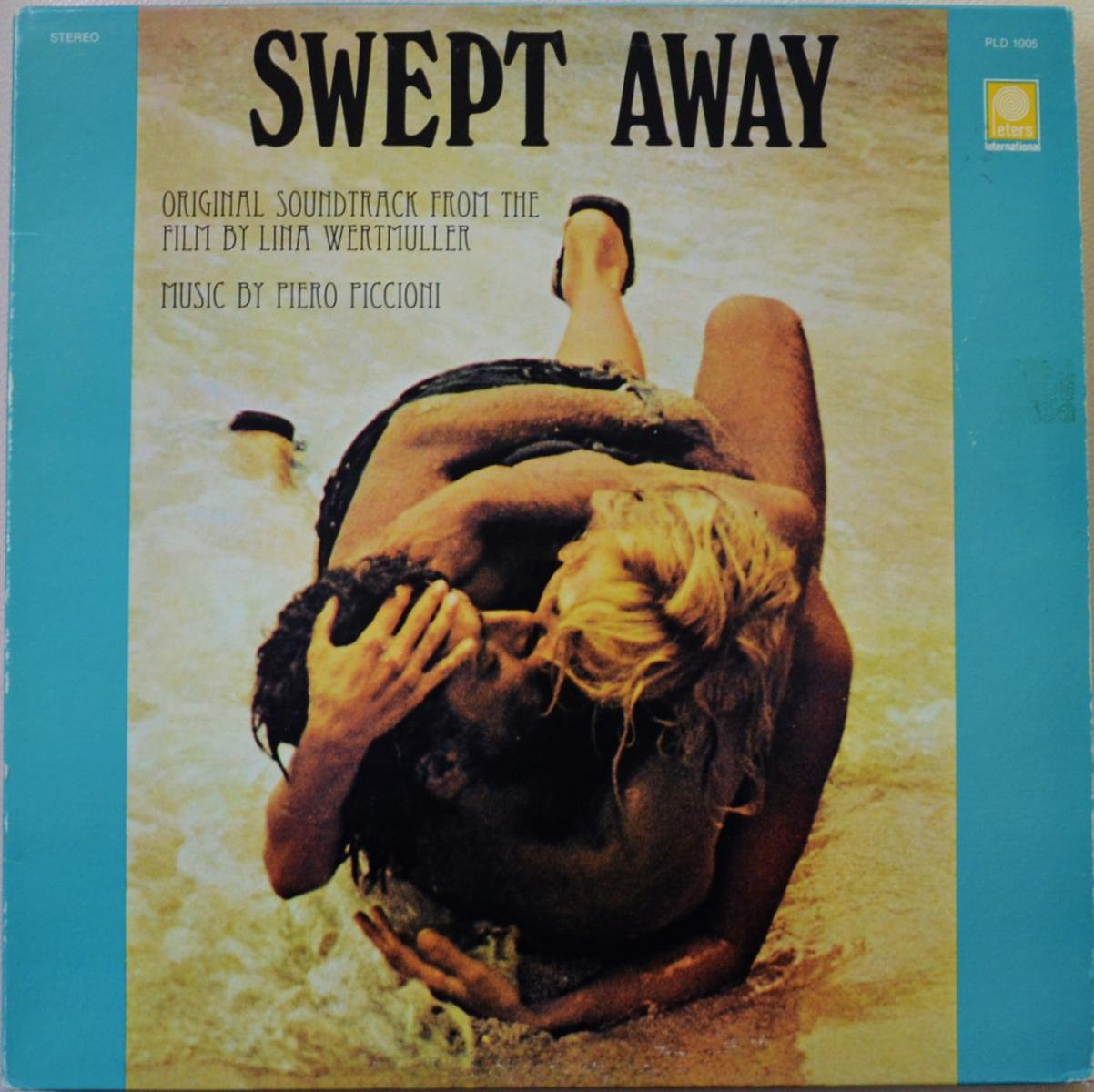 PIERO PICCIONI / SWEPT AWAY (ORIGINAL MOTION PICTURE SOUNDTRACK) (LP)